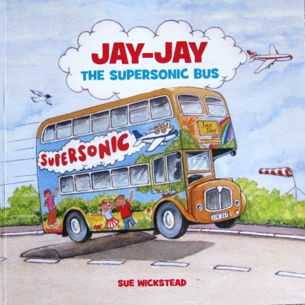 Jay-Jay The Supersonic Bus Cover